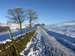 Winter Walk at Tegg's Nose